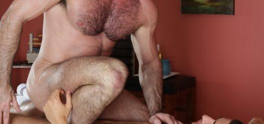Gay Massage 4 - Billy Santoro and Vadim Black