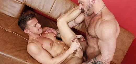 American Hunk With Muscle Boy - Darius Ferdynand and Samuel Colt
