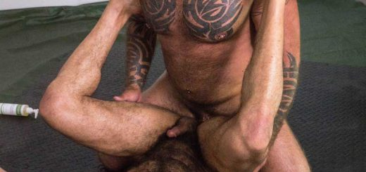 HairyAndRaw - Marc Angelo & Amir Badri