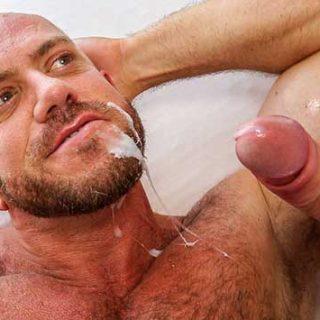 Younger man with huge cock - Tim Kruger and Matt Stevens