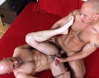 Cocksuremen - John Magnum & Adam Russo playfully toss