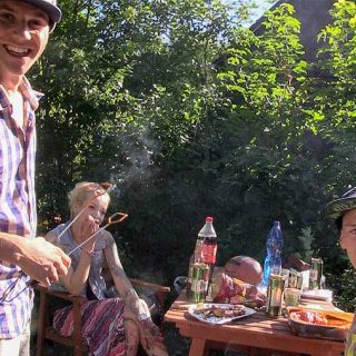 Czech Hunter 311 - Party to celebrate the end of school