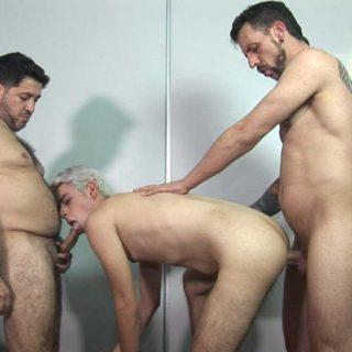 Bareback Me Daddy - Joris and Latin boy Fernand