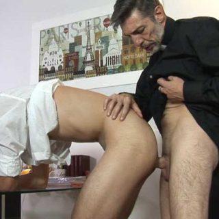 Bareback Me Daddy - Lance and Father Ruben
