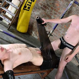 Wrapped Up & Wanked Off - Aaron Aurora & Sean Taylor