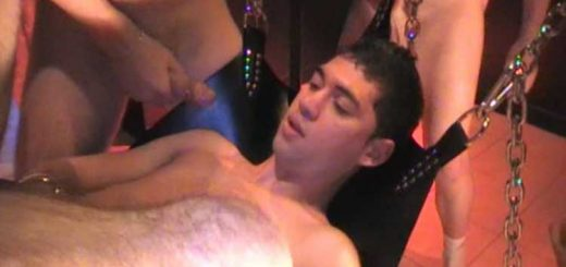 Crunchboy - Orgy of 12 Boys on a Bottom