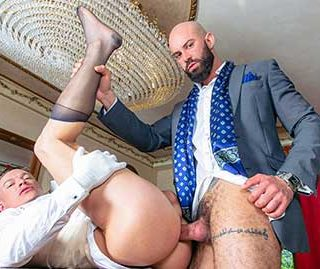 As the personal butler to business mogul Bruno Max, Ruslan Angelo is expected to handle all the needs of the household. And by household - we mean Bruno's appetite for handsome young blue-collar men to serve him fully.