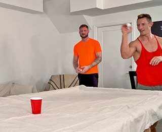 Jax Thirio challenges his friend Gunnar to a water pong challenge, betting some money on the outcome, but when Gunnar loses, Jax proposes a more devious kind of bet…